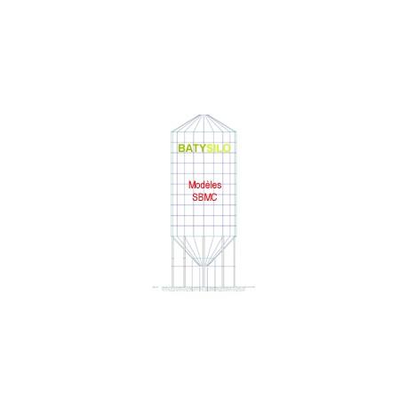 boisseaux cône à 45° - 5,7 tonnes 2,3m - 1 virole